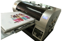 13 year factory 8 color Small Textile printing machine