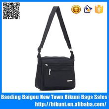 Custom new business tablet bags high quality men nylon shoulder briefcase