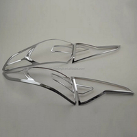 ABS Plastic Chrome Tail light surround cover trim for Hyundai Sonata 9 hot selling new products on China