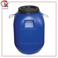 HDPE sealed cover food grade used blue plastic barrel drums