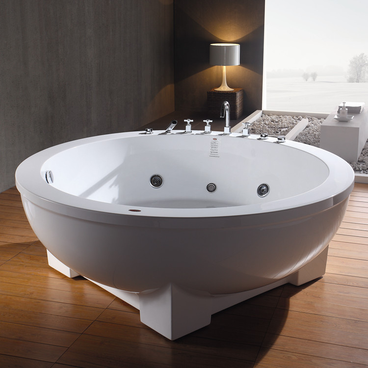 Indoor cheap freestanding used acrylic bathtub for sale for Cheap free standing tubs