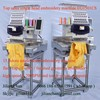 NEW 15 colors tajima type single head embroidery machine for cap t-shirt flat 3D embroidery