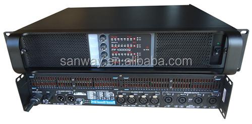 Fp10000q 4 канала 2.67 Ом стабильный про усилитель мощности