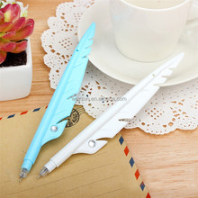 Korean Stationery Novelty Office Supply Goose feather Rollerball Pen &Gel Pen