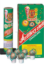 Professional & Artillery dipaly shells 1.75'' crackling artillery shell fireworks