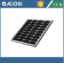 AROSI 5 years warranty high efficiency 12V 45W best price mono solar panel