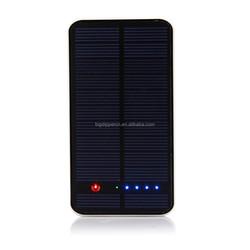 New 10000mAh dual USB output portable monocrystalline solar charger
