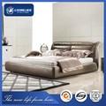 2015 última cama diseños, muebles de dormitorio moderno, cama el dormir