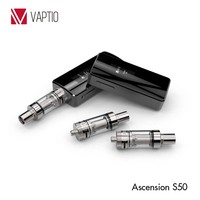 Vaptio the best electronic cigarette Ascension S50 3 pins structure Ni 200 accurate temperature control mod 18650 vape tool kit