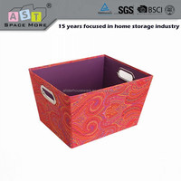 2015 decorative home storage tote price with eyelet handles