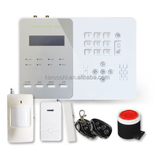 Home automation wireless gsm security alarm