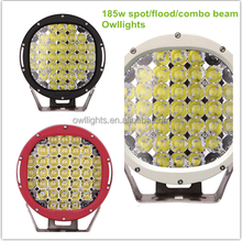 super bright led lights best price 4x4 accessories 185w auto parts , 4x4 9inch round led185W led offroad driving working light