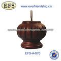 redonda tradicional tallado de muebles de madera piernas(EFS-A-070)