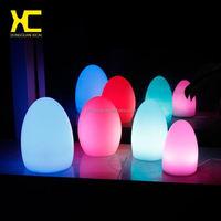 Plastic LED Night Light Small Bar Table Lamp Club Party Decoration Lighting