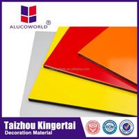 Alucoworld aluminum copper clad laminate light weight concret guangzhou acp aluminum composite panel supplier