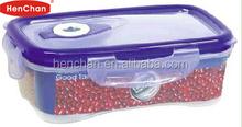vacuum pump 4 locks airtight food container
