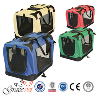 China Dog Carrier fabric pet crate on sale