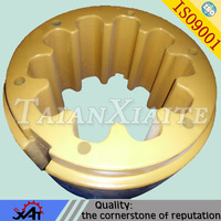 grey iron cast part V casting wheel weight iron counter