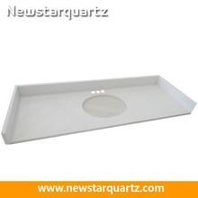 Cut-to-size countertop vanity tops