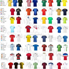 Shirts of football of all teams and of all nations (WorldCup2014)