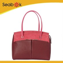 Fashion Brand Genuine Leather Suede Handbag