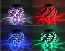 Change colour LED solar Night Light Lamp Projector Ceramic kids sleeping warming&romantic bedroom decoration