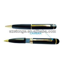 mini size 720p hd portable spy pen with video& audio recording, spy camera pen