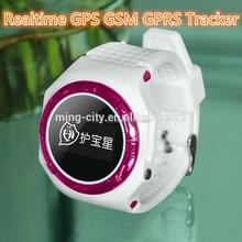 GPS Tracker Wrist Two-way Talking SOS Listen-in Real Time Tracking GPS Tracker Watch Kids