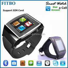 2015 Silm Android 1.3M Camera Skype Email dual sim card watch mobile phone