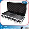 Portable customized cheap aluminum storage case