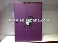 360 Rotating pu Leather lichi pattern Case Stand Cover For Samsung Galaxy Note Pro 12.2 purple