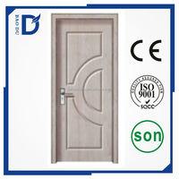 alibaba china hot sale pvc wooden door hand carved pvc wooden door flat teak pvc wood main door designs