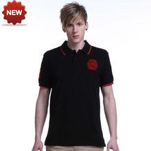camisetas para hombre marca polo de algodón bordadas al mayoreo