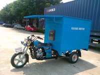(moving shop,2013 year new model)200cc closed cargo box tricycle