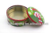 food round tin can /biscuit cake box /Round cake tin boxes packaging