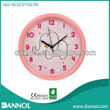 """2013 nuevo producto 10"""" ronda dibujos animados de la pared imágenes de reloj de pared baratos"""
