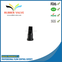 Vacuum pump rubber duckbill valve inflatable