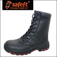 Army military light weight rubber work boot