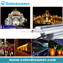 outdoor ip67 Dynamic white 60w led decorative waterproof dmx512 control led wall washer