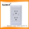 15a switch socket outlet American type with 2 USB port