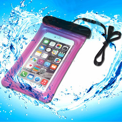 cheap durable mobile phone plastic pvc waterproof case for iphone 6
