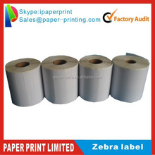 Zebra LP 2844 4X6 Direct Thermal Shipping Labels roll 250 Self Adhesive labels