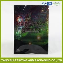 Potpourri/Hot Sale/10g/Zipper/Small/Herbal Incense aluminum foil Bag With Tear Notch