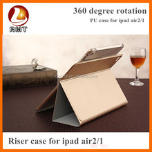Royal PU leather case for ipad 6 air 2 Colorful Wallet Leather Case