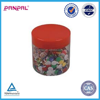 pp round barrel packed Office 9mm plastic colorful Thumb Tacks