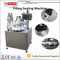 Automatic Toothpaste/Cosmetic/Hair Color Cream Filling And Sealing Machine