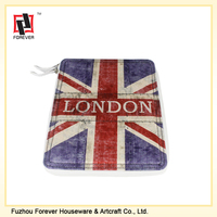 The British Flag Design PU leather i pad case