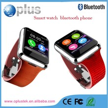 Latest wrist watch mobile phone, alibaba china supplier factory bluetooth watch smart phone