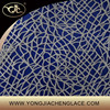 YJC19484 Cotton embroidery corded lace fabric wholesale