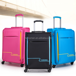 3pc set nylon and PP spinner luggage set